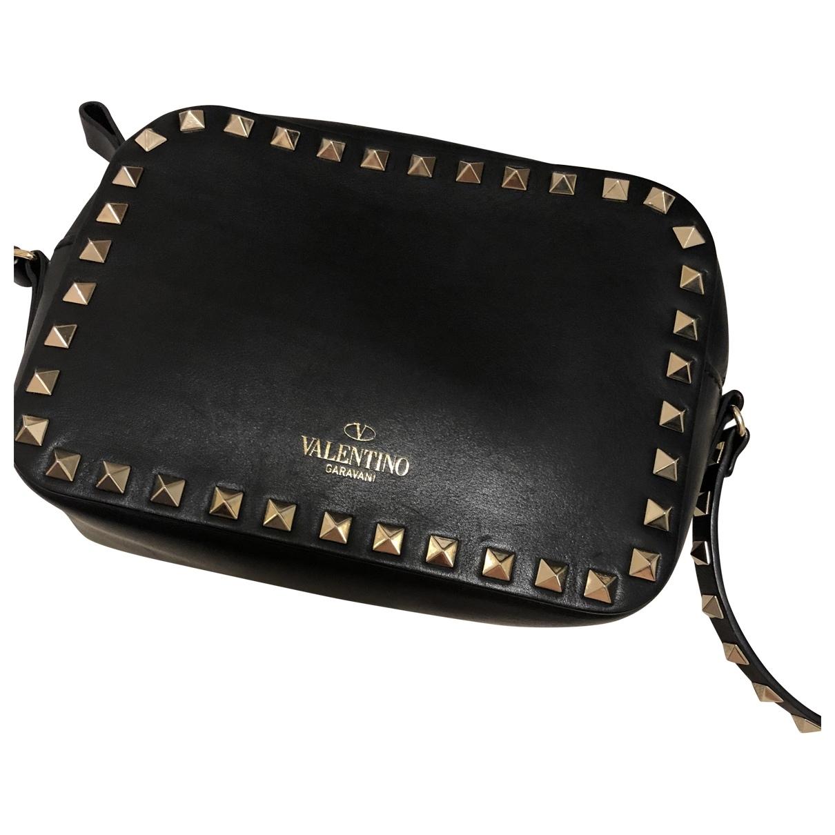 Valentino Garavani Rockstud Black Leather handbag for Women \N