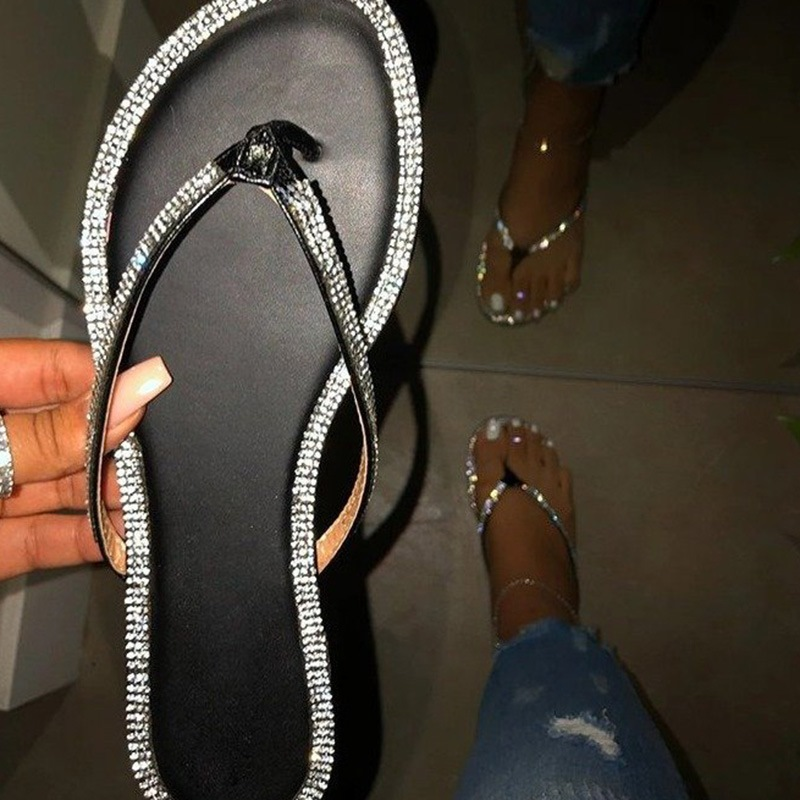 Ericdress Flat With Slip-On Thong Slippers