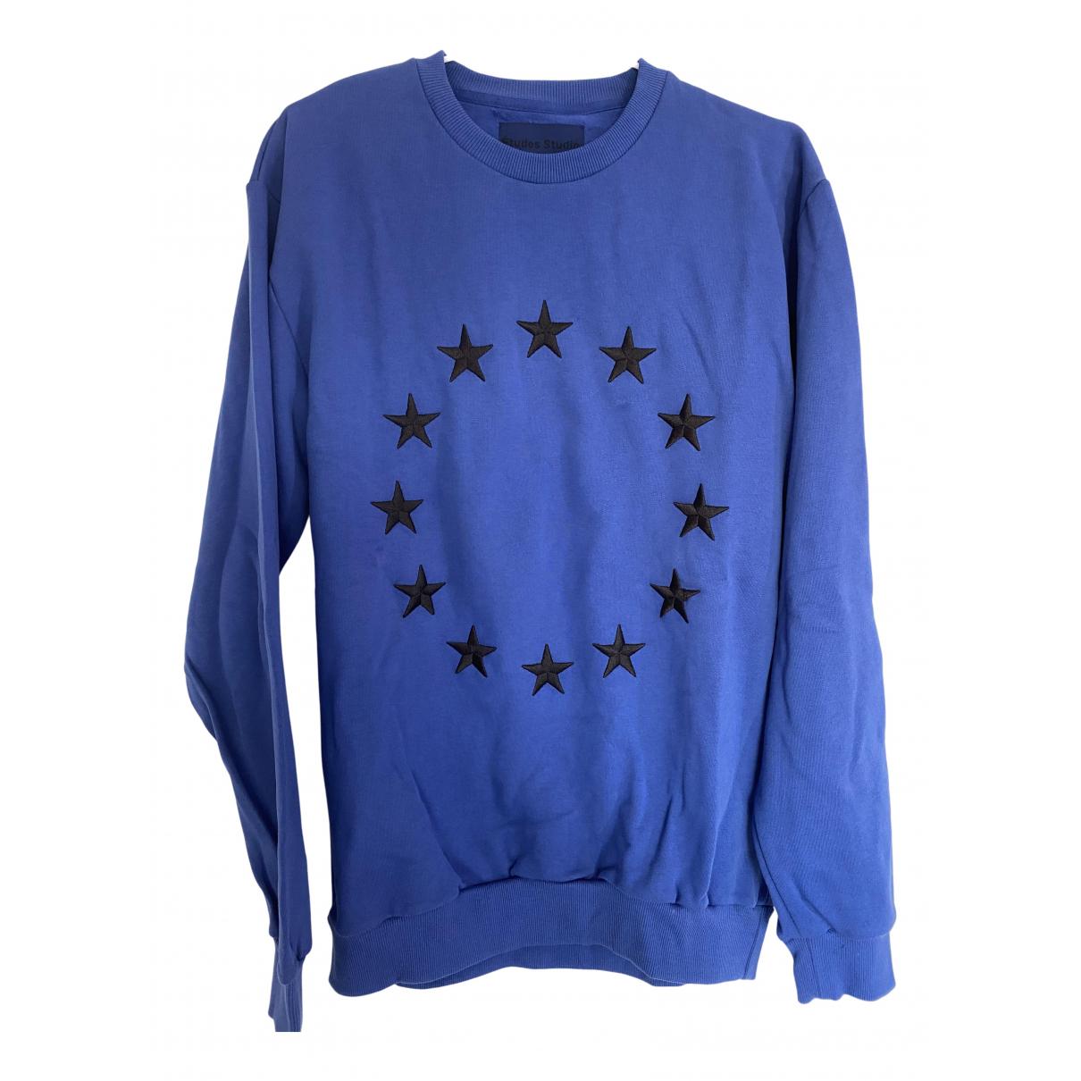 Etudes Studio \N Pullover.Westen.Sweatshirts  in  Blau Baumwolle