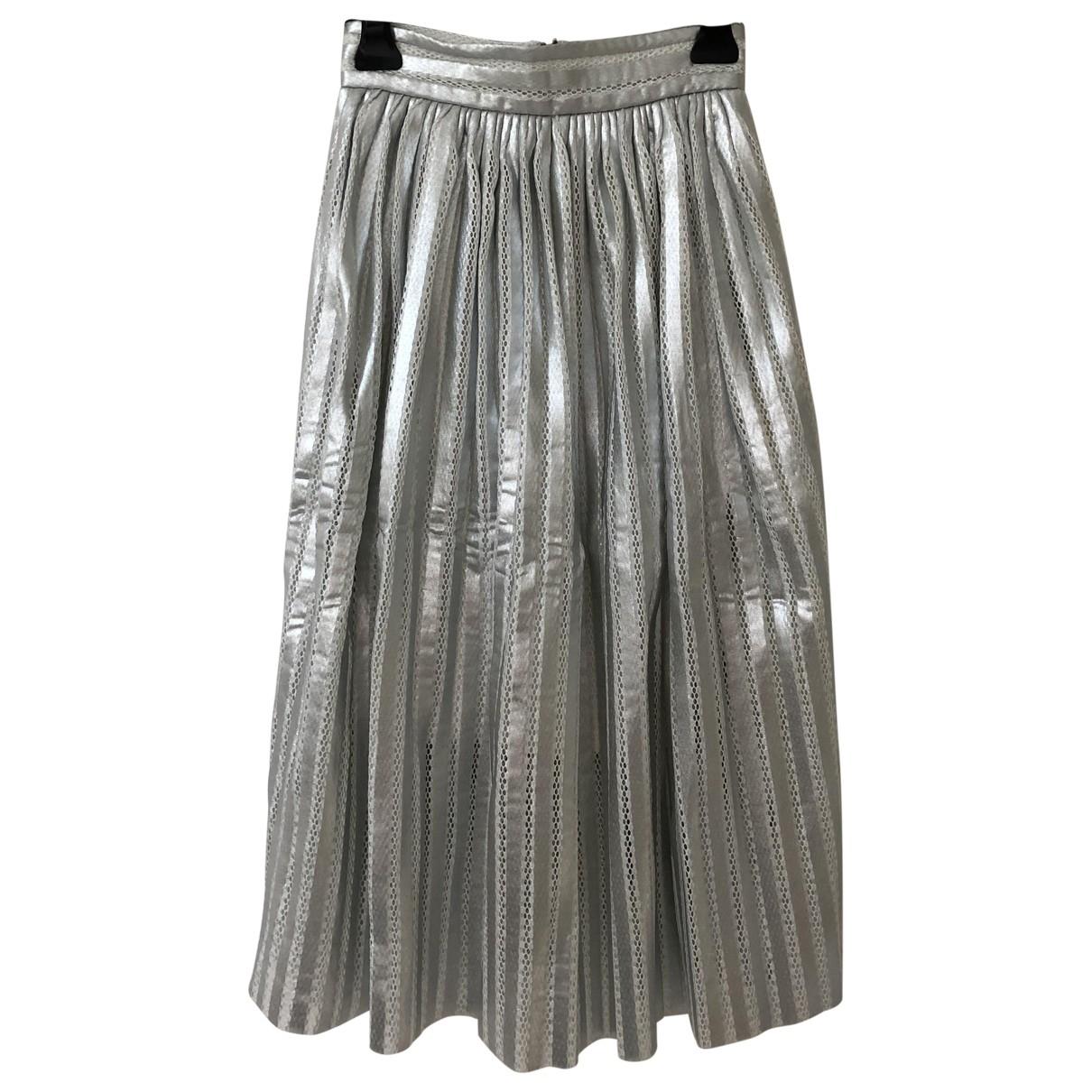 Maje \N Silver skirt for Women 1 0-5