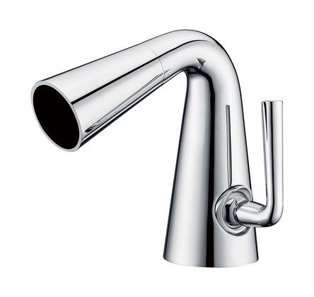 AB1788-PC Waterfall Bathroom Faucet with Brass  Valve  UPC Certified  Single Lever Control  Single Hole Deck Mount Installation and 5-Year Warranty