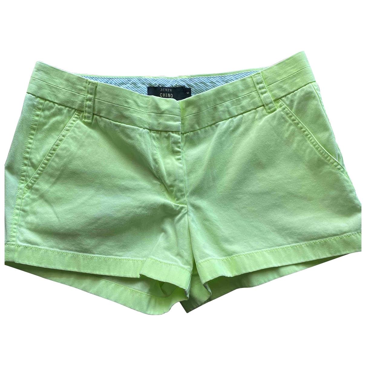 J.crew \N Shorts in  Gruen Baumwolle