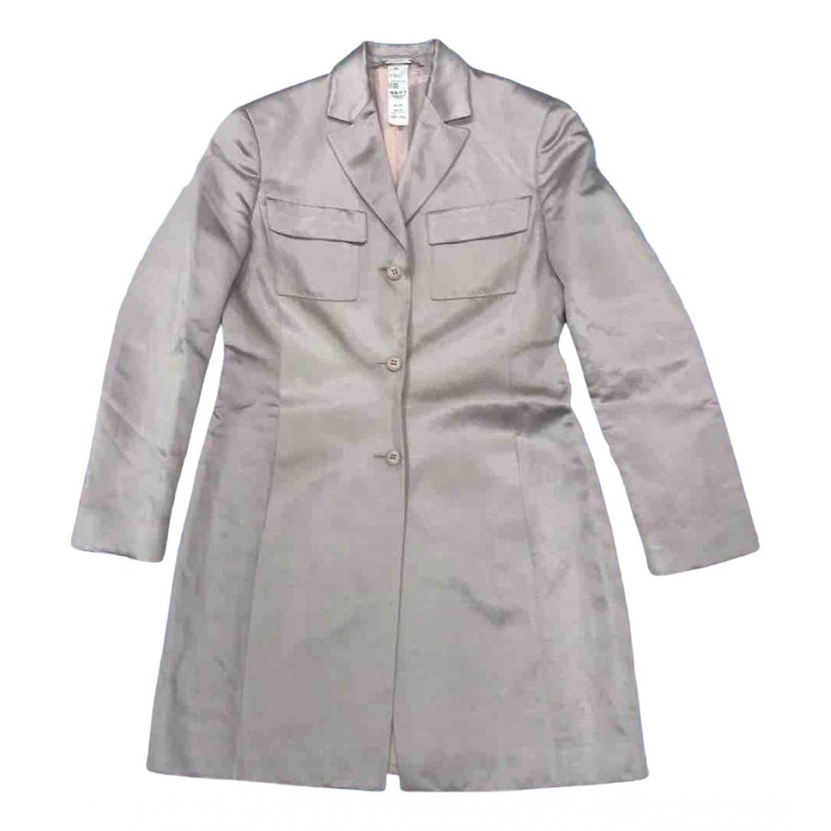 Istante N Pink Linen jacket for Women 42 IT