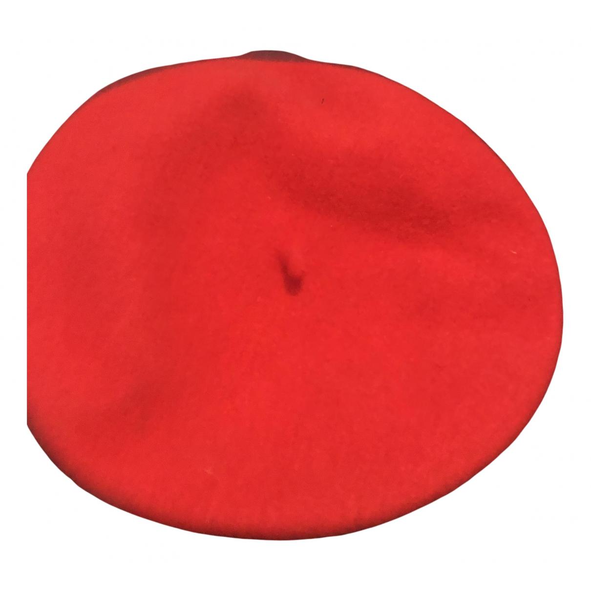 Lack Of Colour - Chapeau   pour femme en laine - rouge