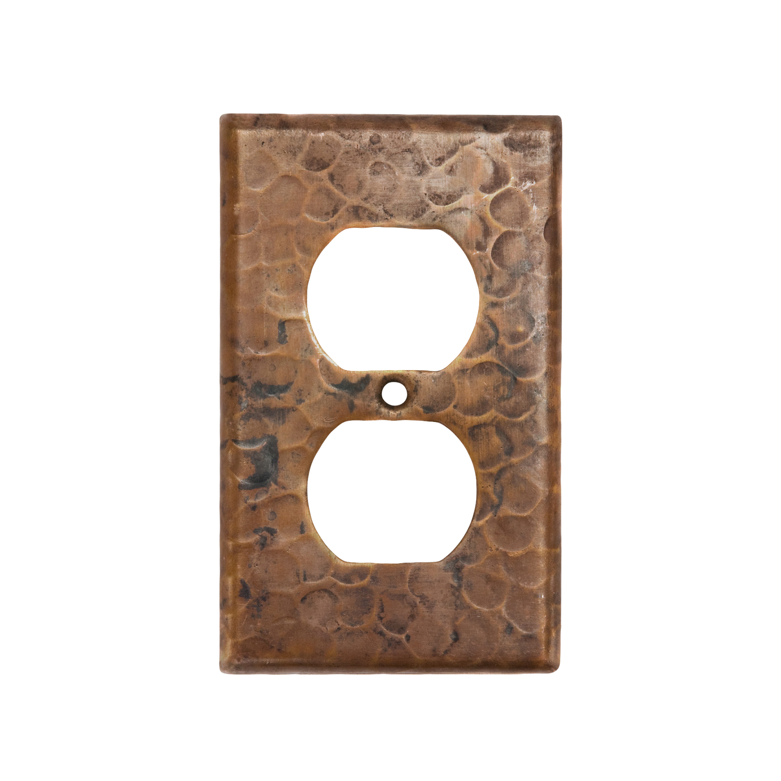 Single Duplex 2-Hole Outlet Switchplate Cover