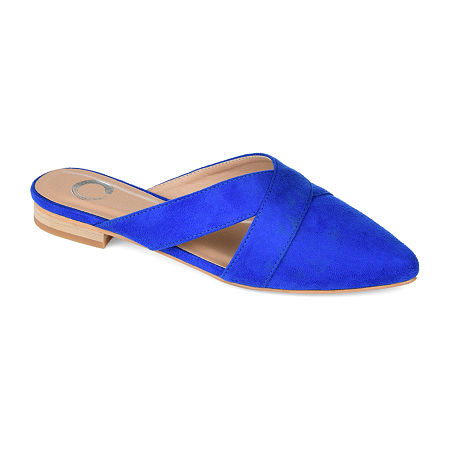 Journee Collection Womens Giada Mules, 12 Medium, Blue