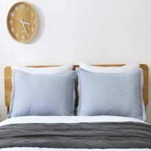 1 par funda de almohada simple sin relleno
