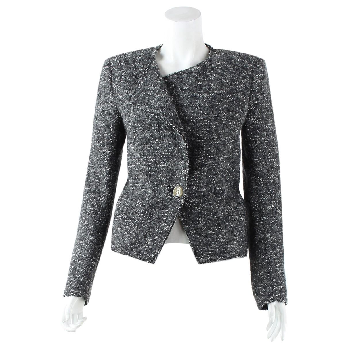 Isabel Marant Etoile \N Grey Cotton jacket for Women 36 FR