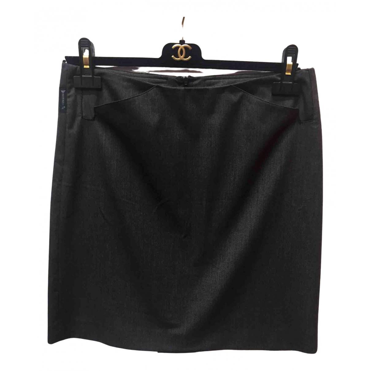 Armani Jeans \N Rocke in  Grau Polyester