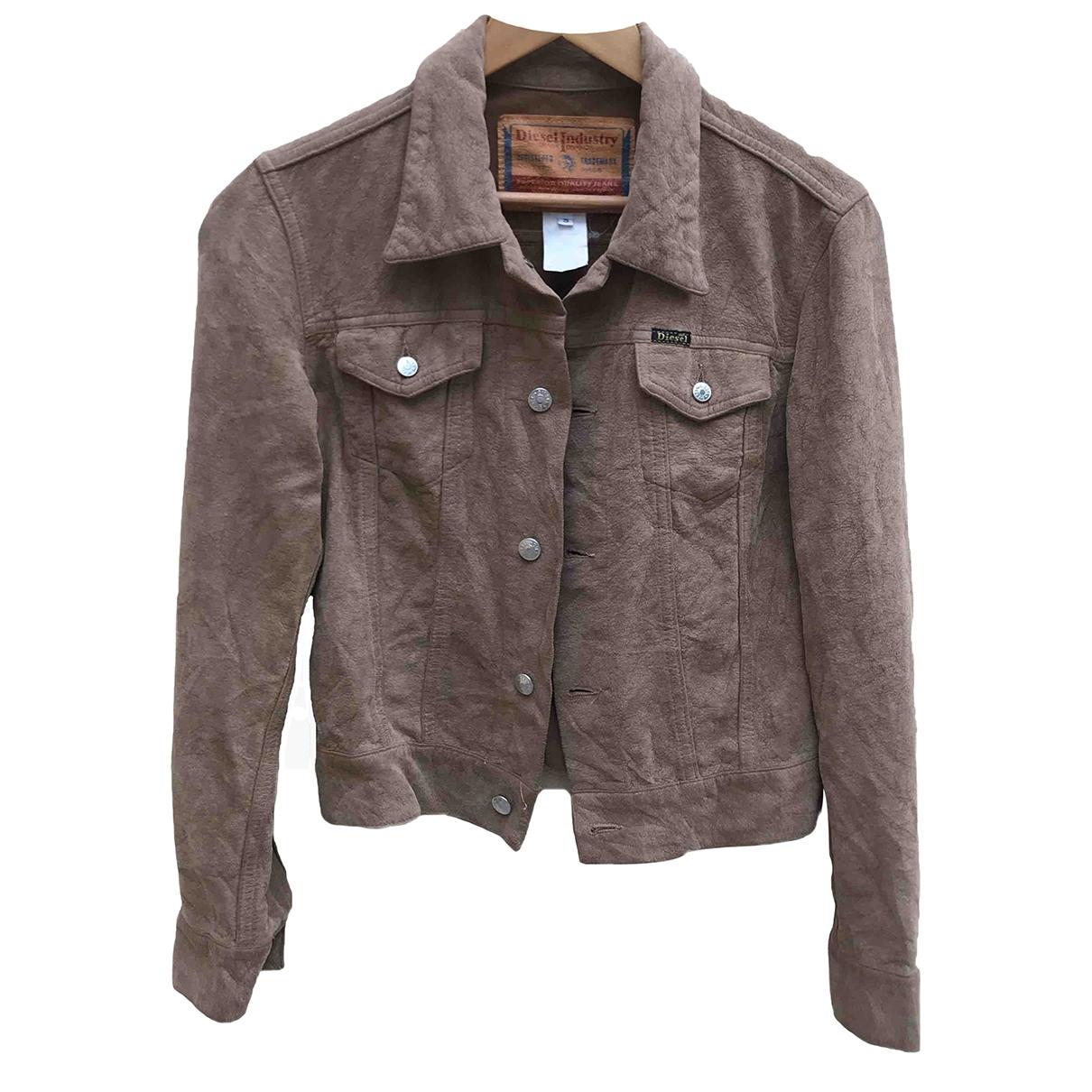 Diesel \N Brown Cotton jacket  for Men S International