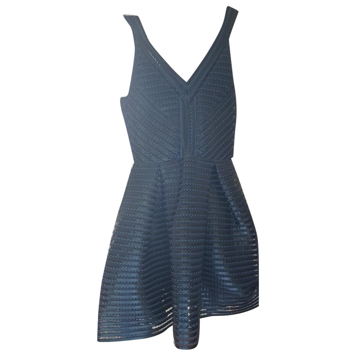 Maje Spring Summer 2019 Kleid in  Blau Polyester