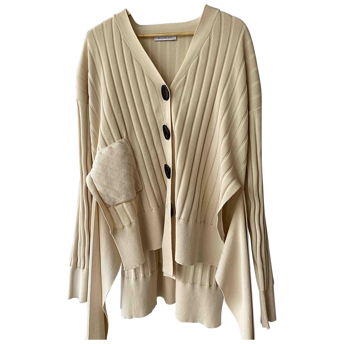 - Pull Oversize pour femme en laine - beige