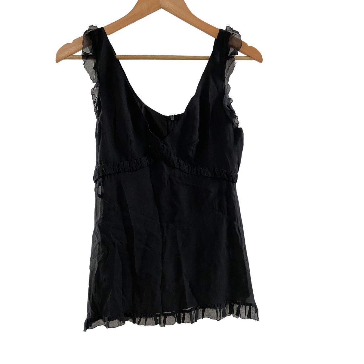 Isabel Marant Etoile - Top   pour femme en soie - noir