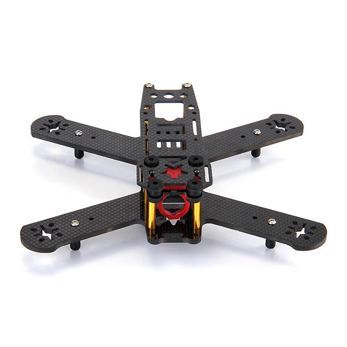 Puffin 210mm Wheelbase All Carbon Fiber Quadcopter Frame Kit