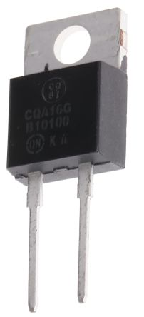 ON Semiconductor ON Semi 100V 10A, Schottky Diode, 2-Pin TO-220AC MBR10100G (10)