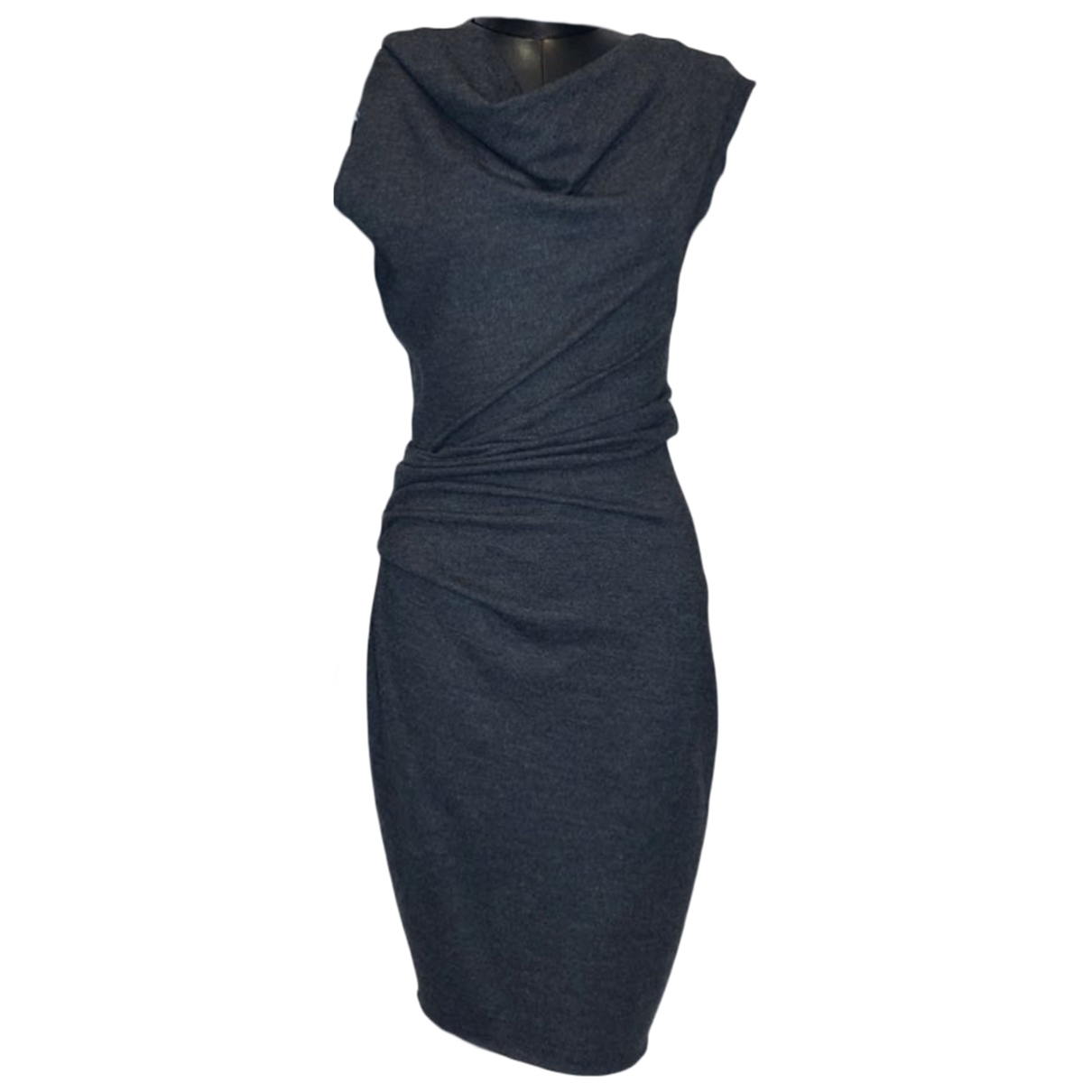 Helmut Lang \N Grey Wool dress for Women S International