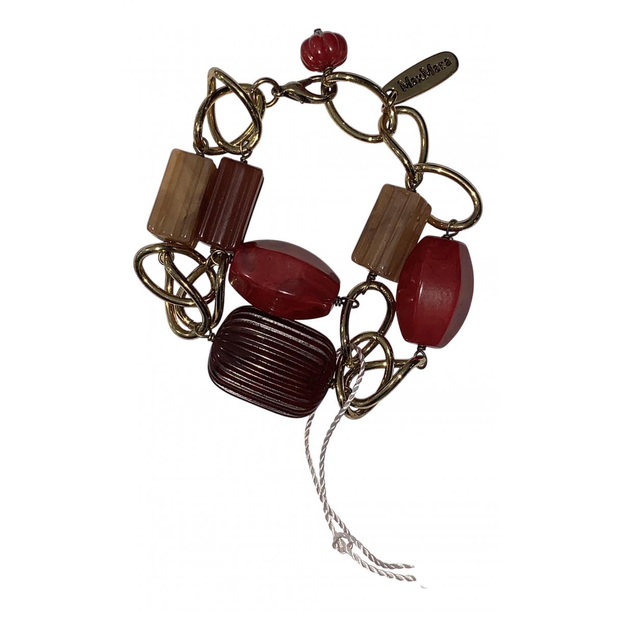 Max Mara \N Armband in  Rot Metall