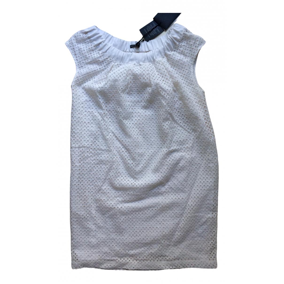 Iris Von Arnim - Robe   pour femme en soie - blanc