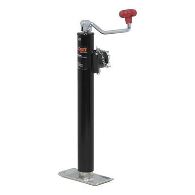Curt Manufacturing Pipe Mount Swivel Jack - 28356