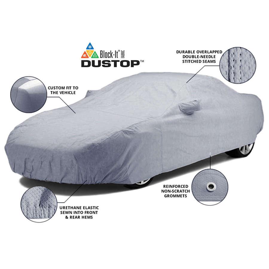 Covercraft C12358YS Dustop Custom Car Cover Gray Porsche