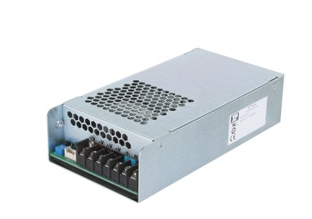 XP Power , 330 (90 → 180 V ac) W, 350 (180 → 264 V ac) W AC-DC Converter, 24V dc, Enclosed, Medical