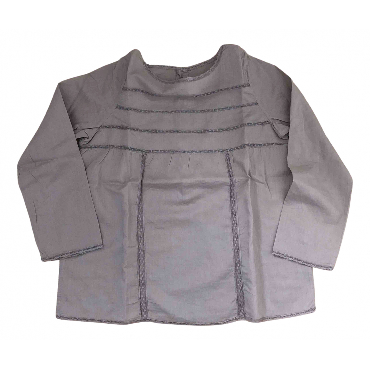 Bonpoint N Ecru Cotton  top for Kids 8 years - up to 128cm FR