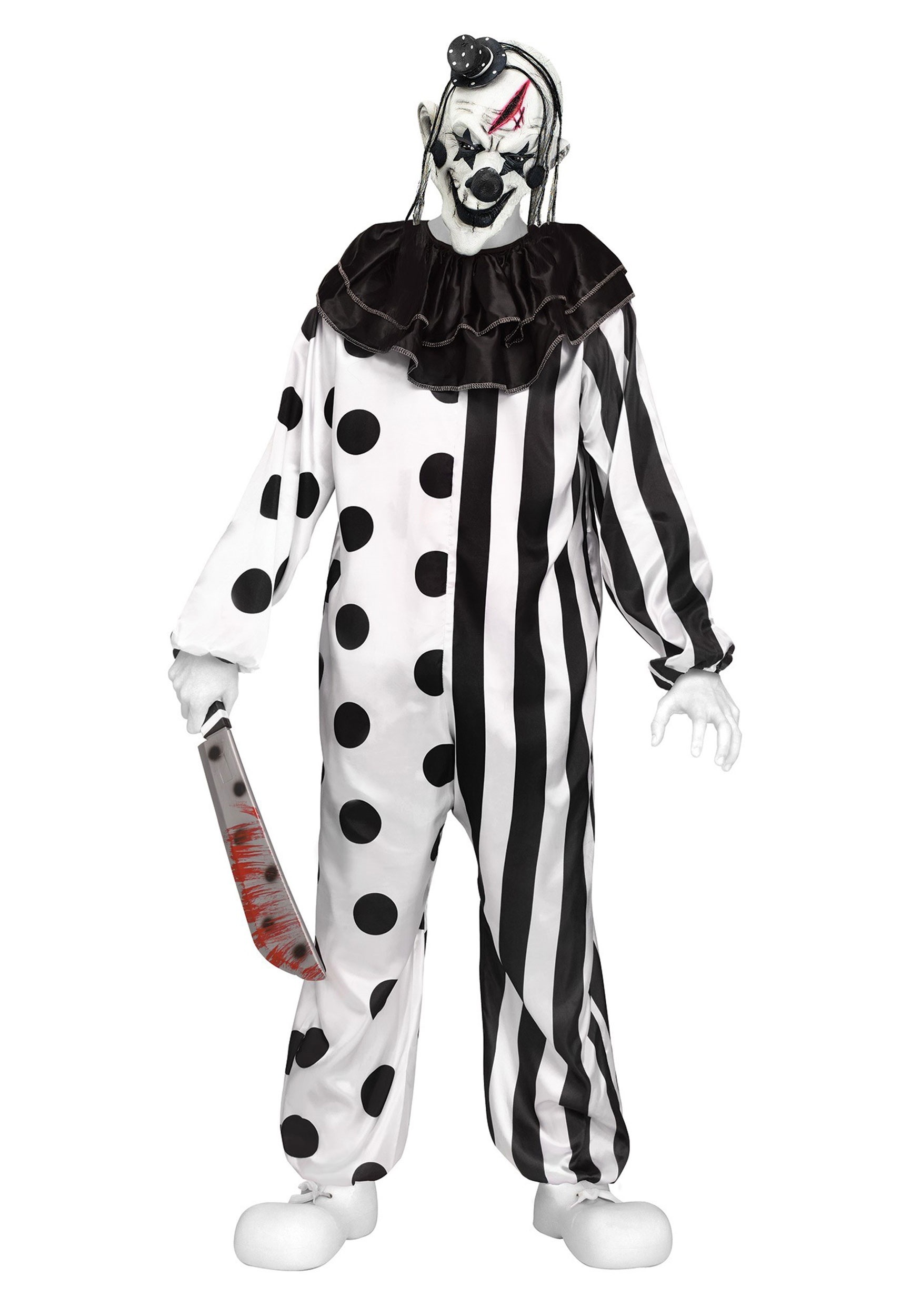 Killer Clown Teen Costume | Scary Halloween Costume