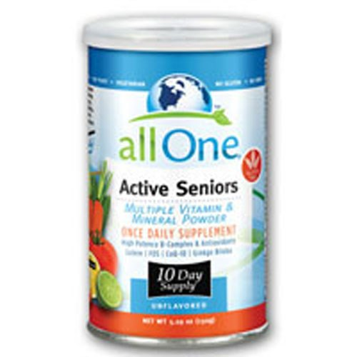 Active Seniors Formula 10 Day Supply 5.23 Oz by All-One (Nutri-Tech)