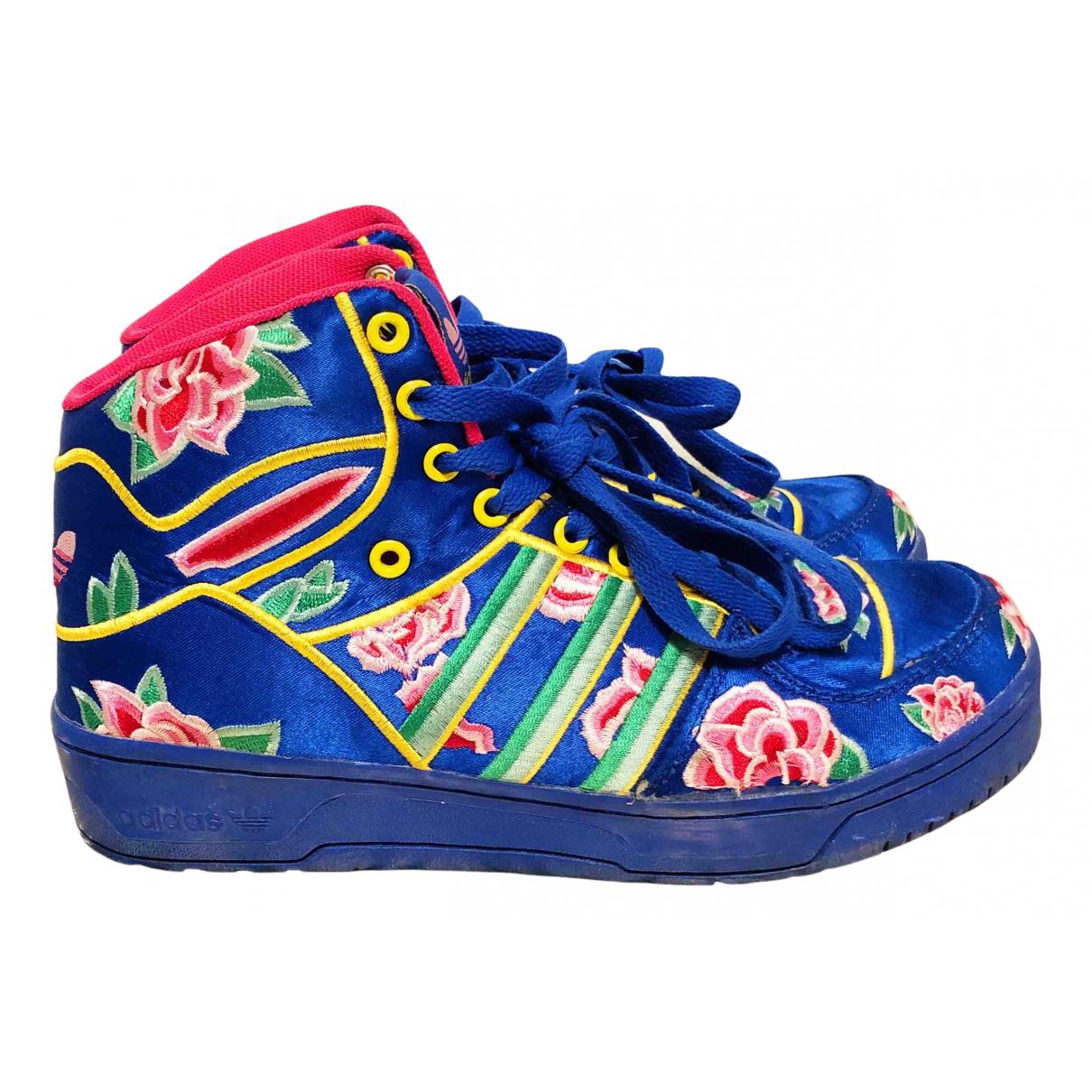 Jeremy Scott Pour Adidas \N Sneakers in  Bunt Leinen
