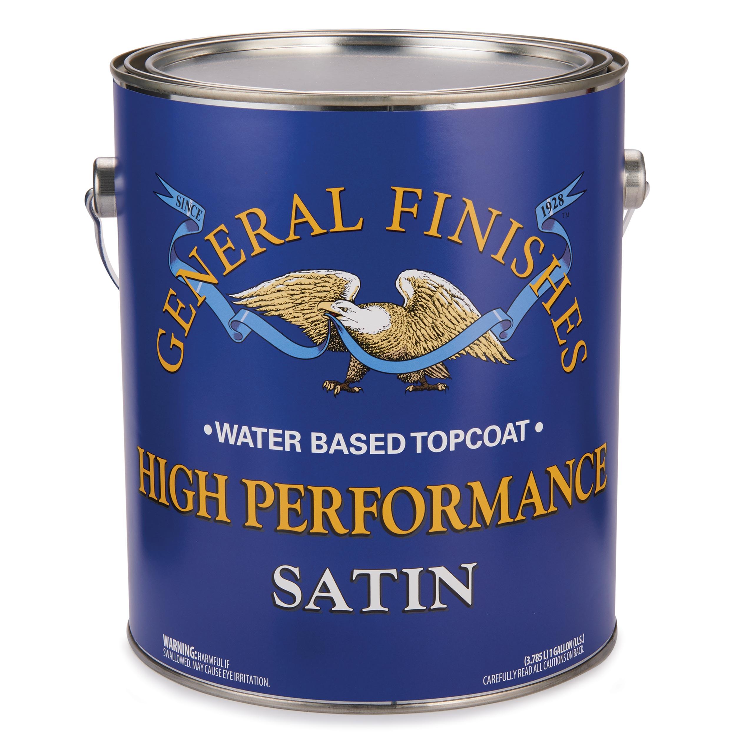 Satin High Performance Varnish Water Based Gallon