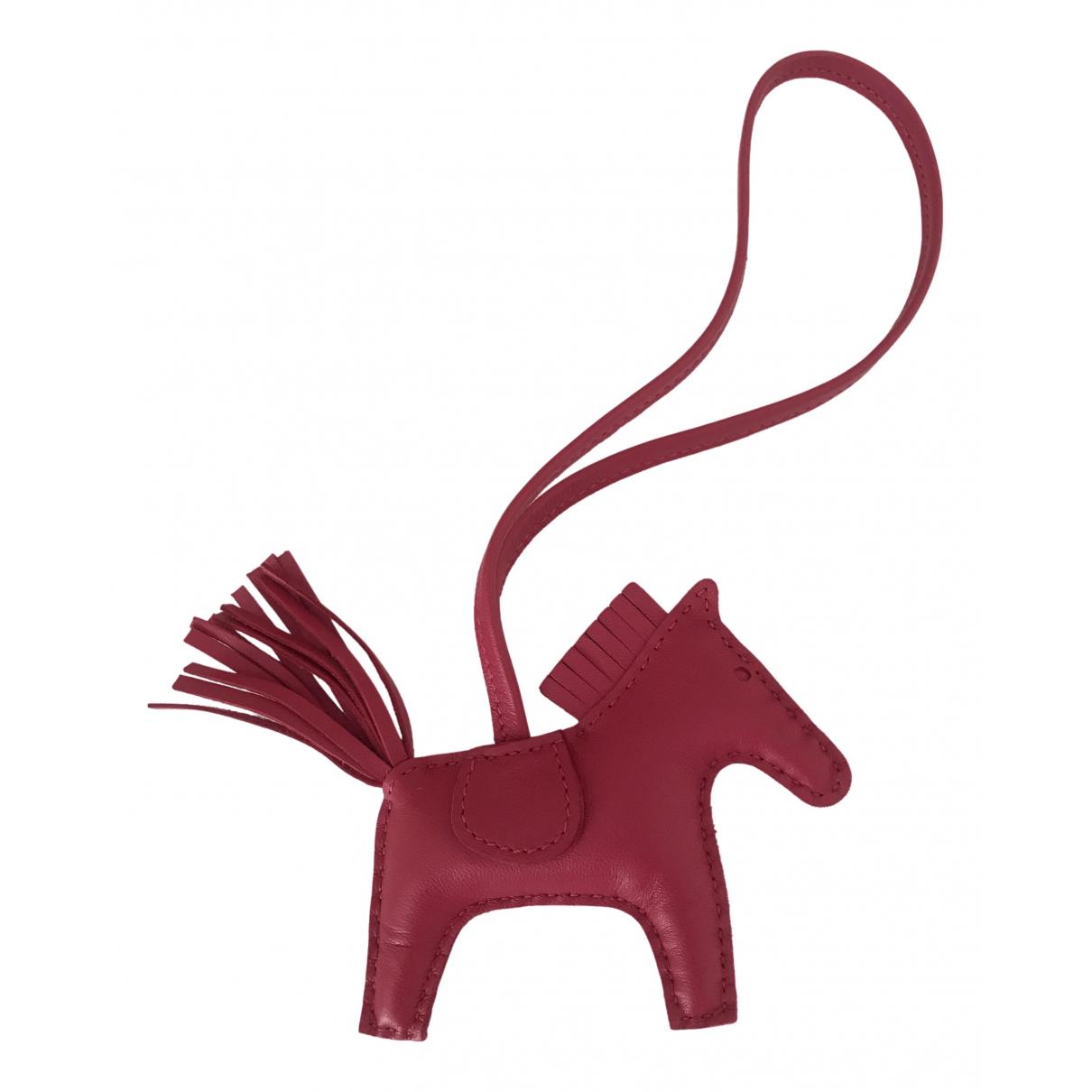 Hermes - Petite maroquinerie   pour femme en cuir - rose
