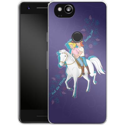 Google Pixel 2 Silikon Handyhuelle - Bibi und Tina Pferd von Bibi & Tina