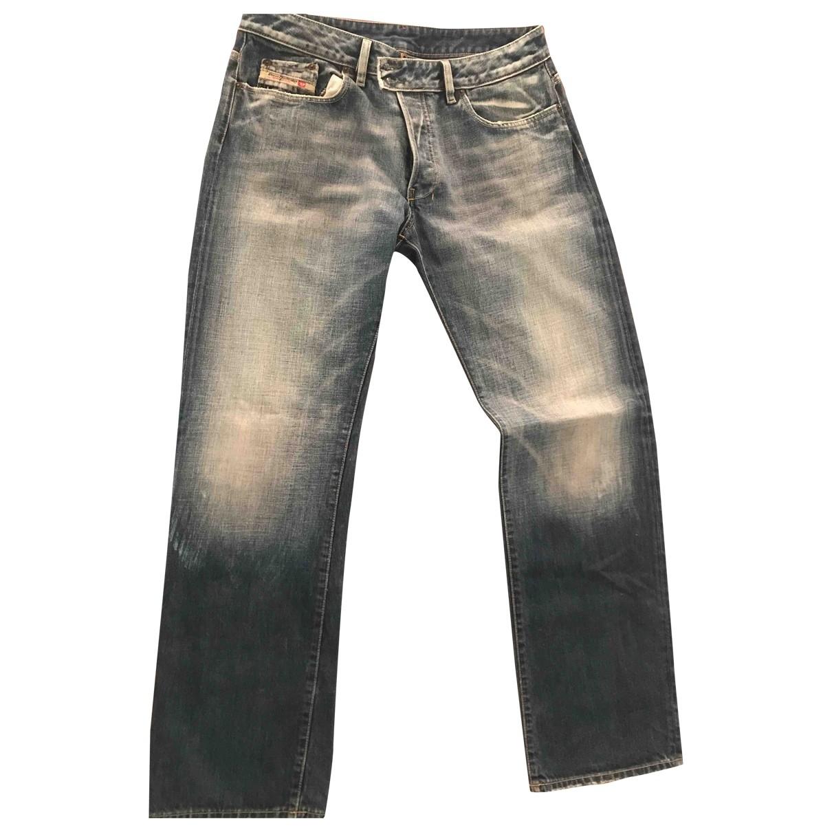 Diesel \N Blue Cotton Jeans for Men 36 US