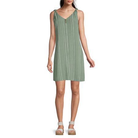 a.n.a Sleeveless Sheath Dress, Medium , Green