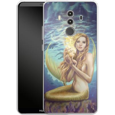 Huawei Mate 10 Pro Silikon Handyhuelle - Selina Fenech - Holding Magic von TATE and CO