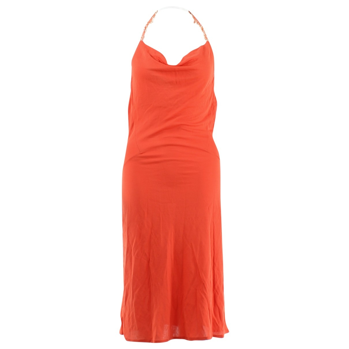 Non Signé / Unsigned \N Orange dress for Women 40 IT