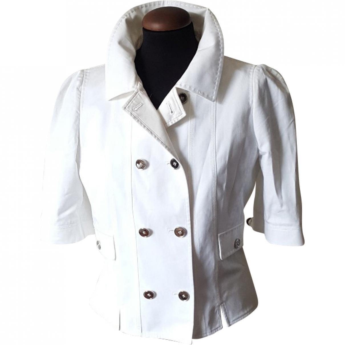 Dolce & Gabbana \N White Cotton jacket for Women 42 FR