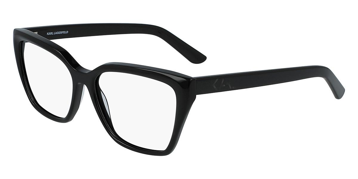 Karl Lagerfeld KL 6027 001 Women's Glasses Black Size 54 - Free Lenses - HSA/FSA Insurance - Blue Light Block Available