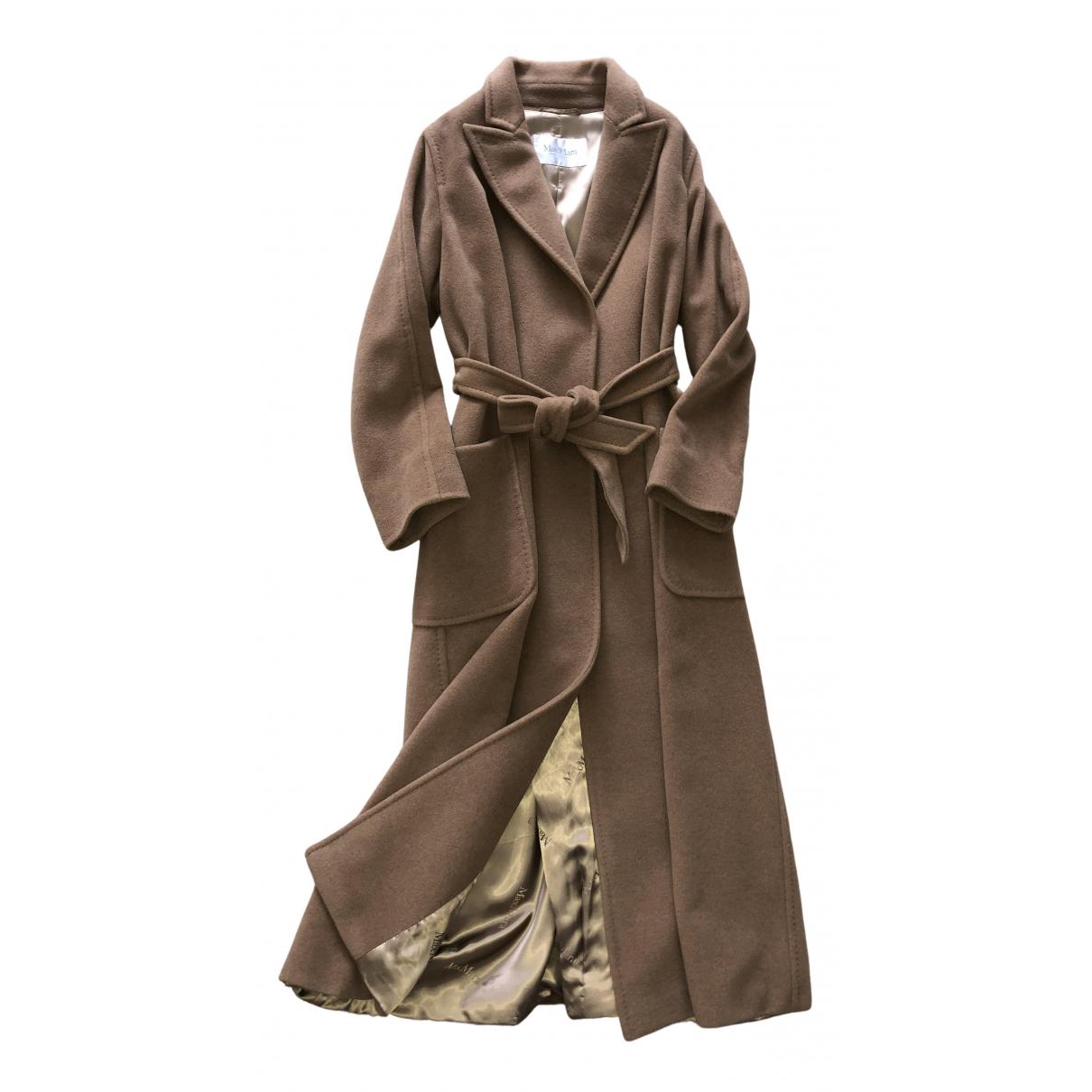 Max Mara - Manteau   pour femme en laine - camel