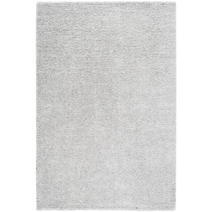 Deluxe Shag DXS-2302 9' x 12' Rectangle Modern Rug in Light