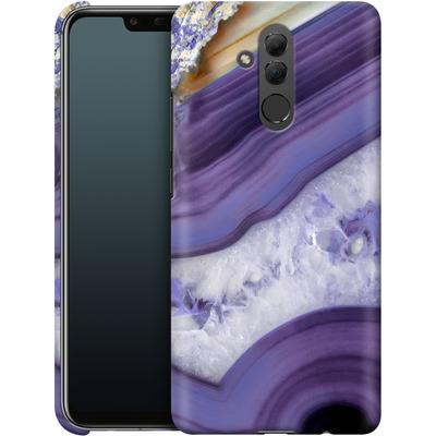 Huawei Mate 20 Lite Smartphone Huelle - Purple Agate von Emanuela Carratoni