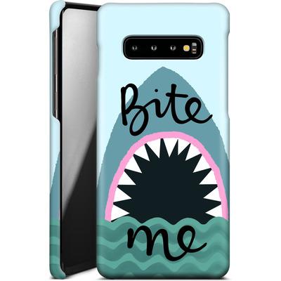 Samsung Galaxy S10 Plus Smartphone Huelle - Bite Me von caseable Designs