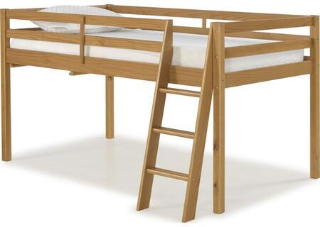 Roxy Collection AJRX10CIA Twin Wood Junior Loft Bed