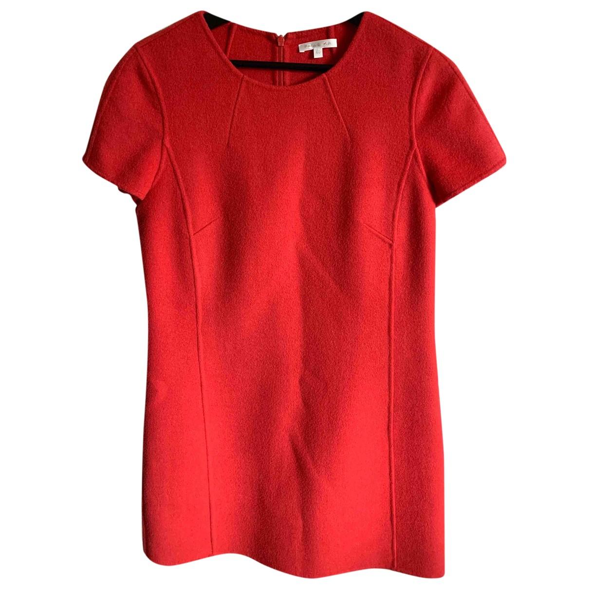 Paule Ka \N Red Wool dress for Women 40 FR