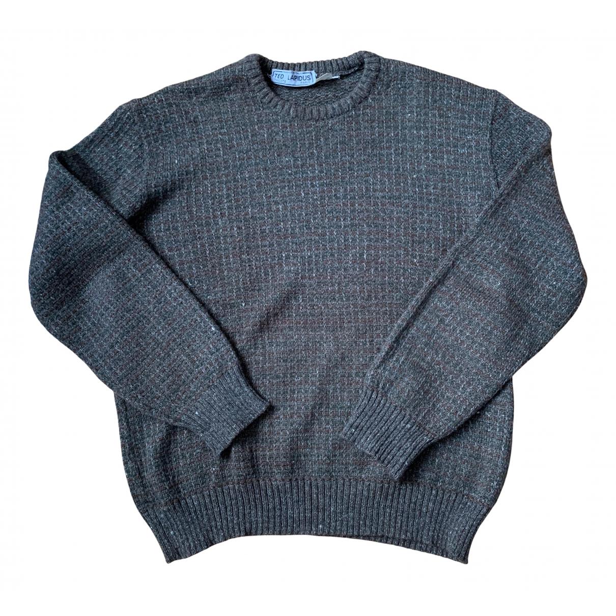 Ted Lapidus \N Pullover.Westen.Sweatshirts  in  Khaki Wolle