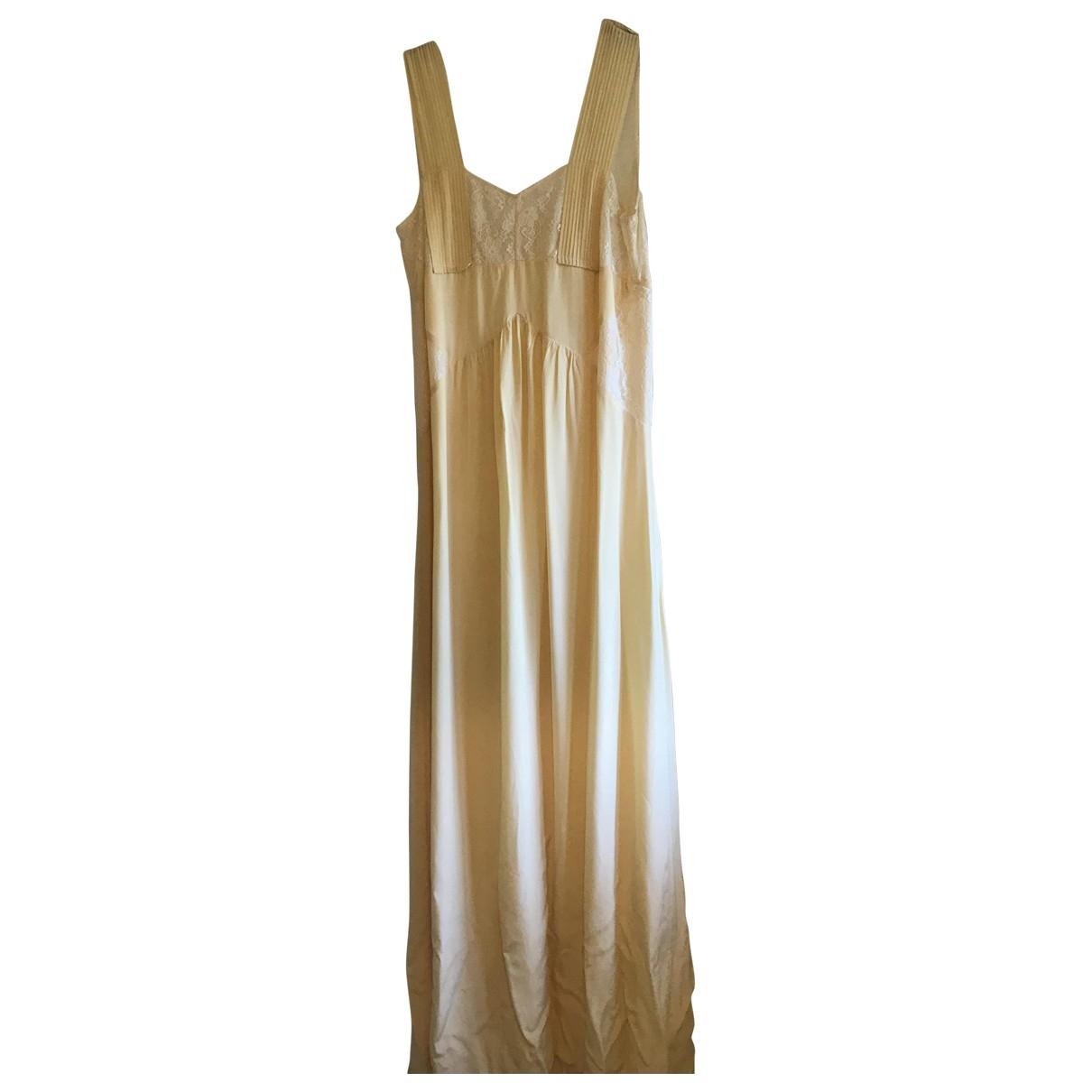 Hoss Intropia \N Yellow dress for Women 8 UK
