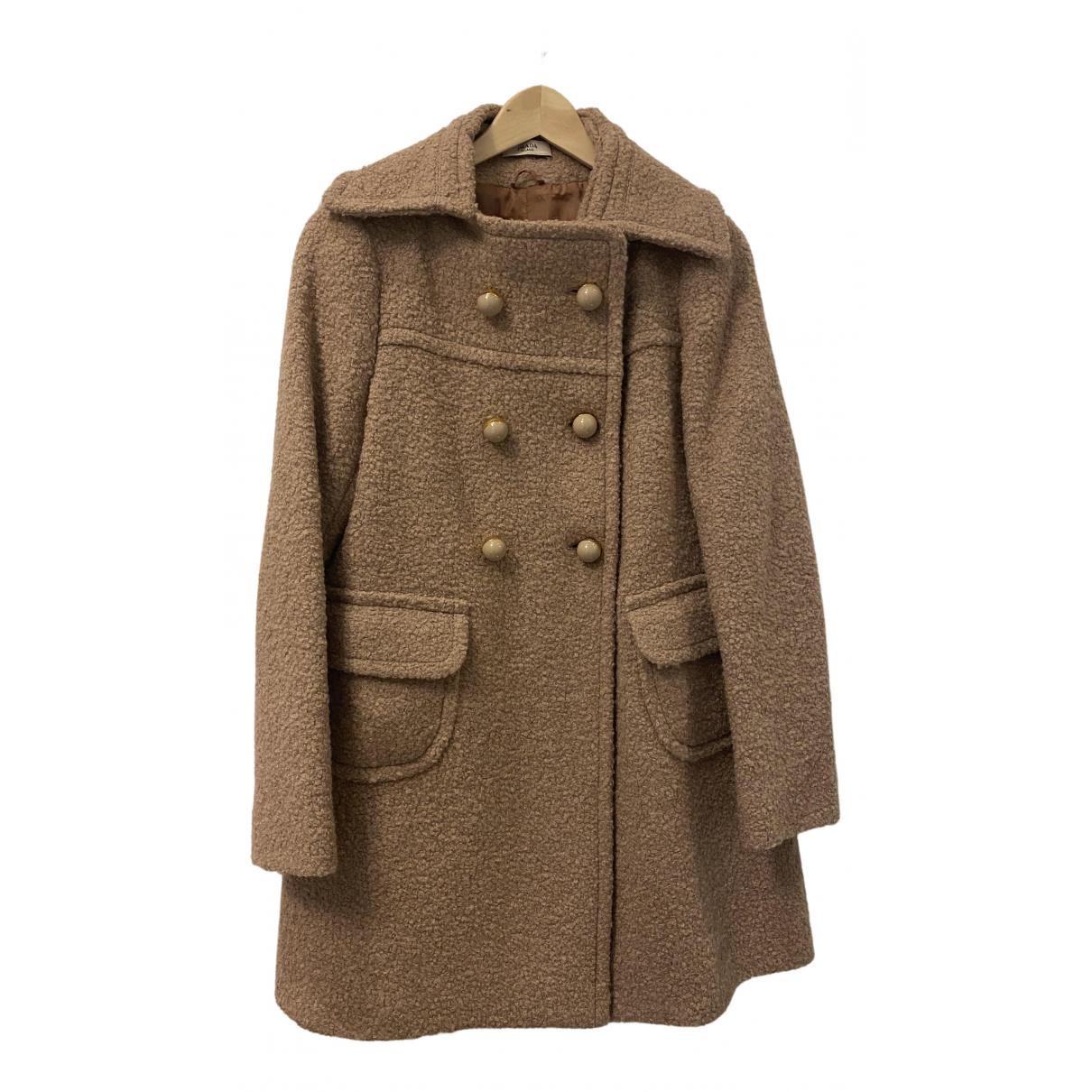Prada - Manteau   pour femme en laine - beige