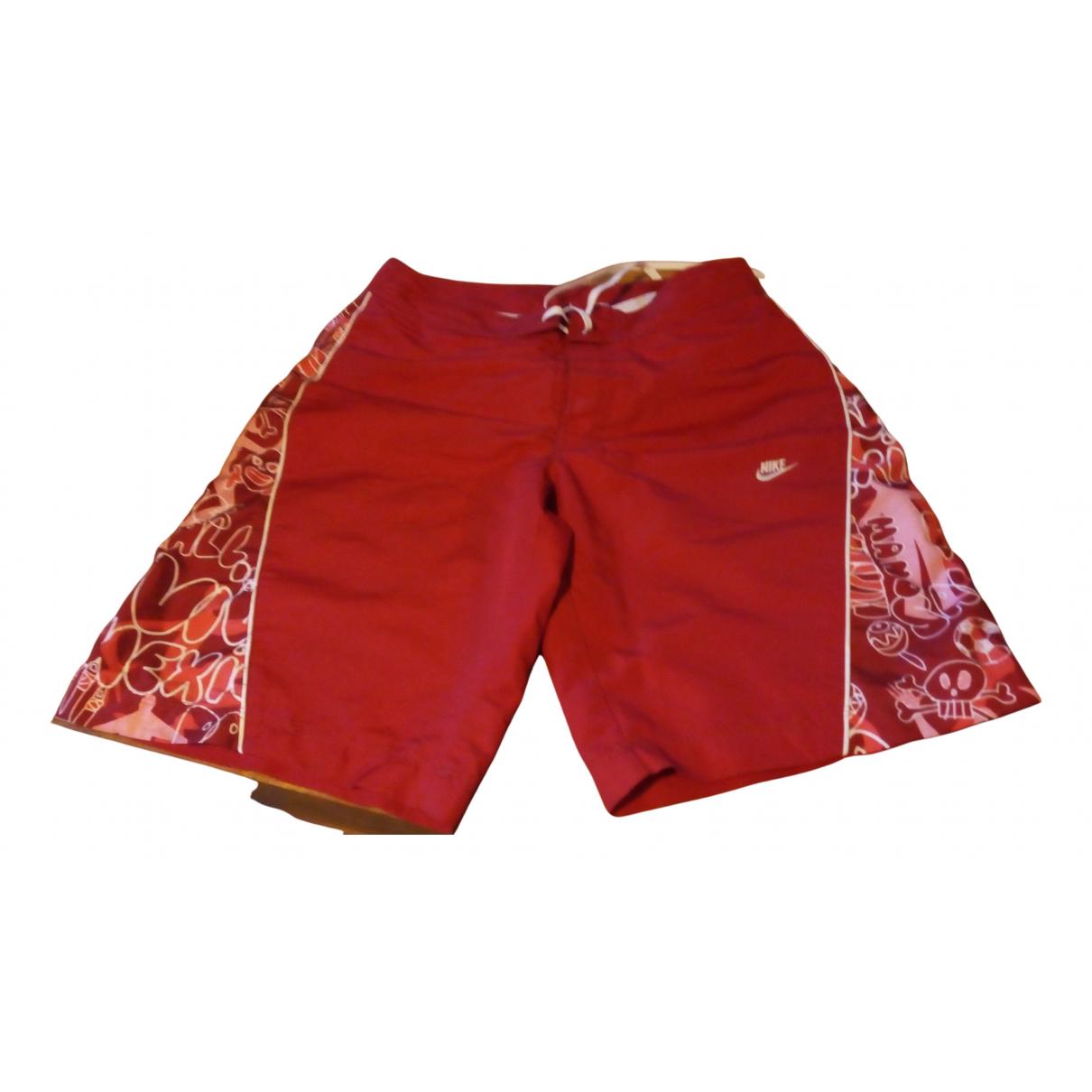 Nike \N Badeanzug in  Rot Polyester
