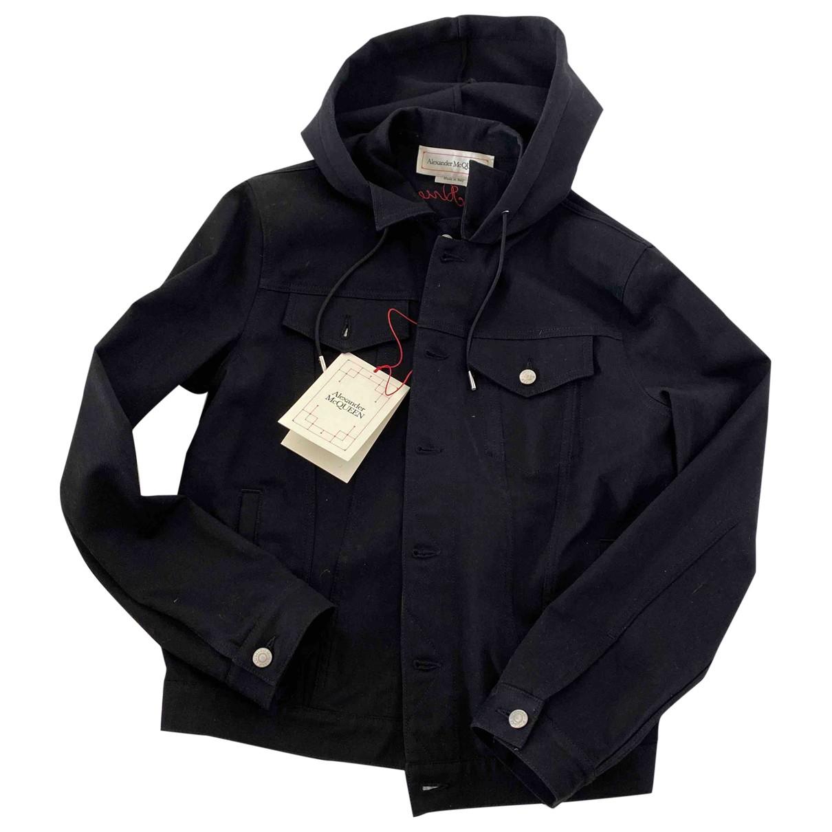 Alexander Mcqueen \N Black Cotton jacket  for Men 50 IT