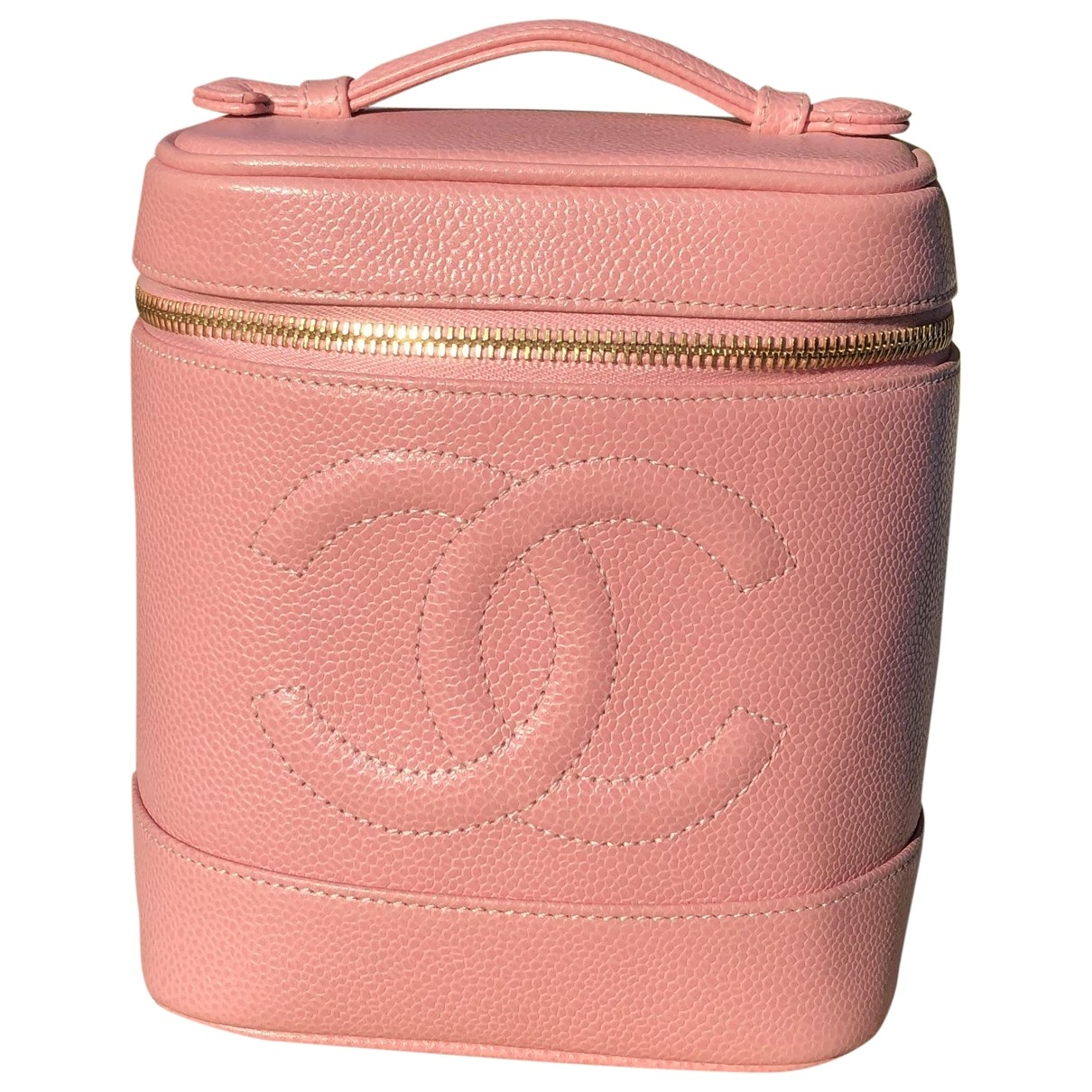 Chanel \N Pink Leather Travel bag for Women \N